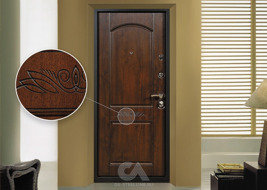 стальная дверь внутри